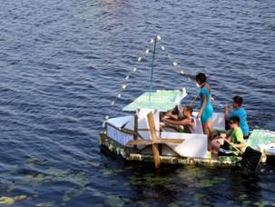Milk carton boat race 2011