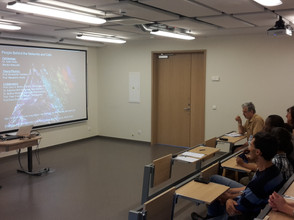 First open seminar at MBI