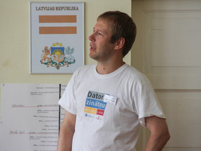 Summer camp 2012 of Association of Latvian Young Scientists