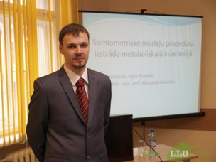 Agris Pentjuss defends doctoral thesis