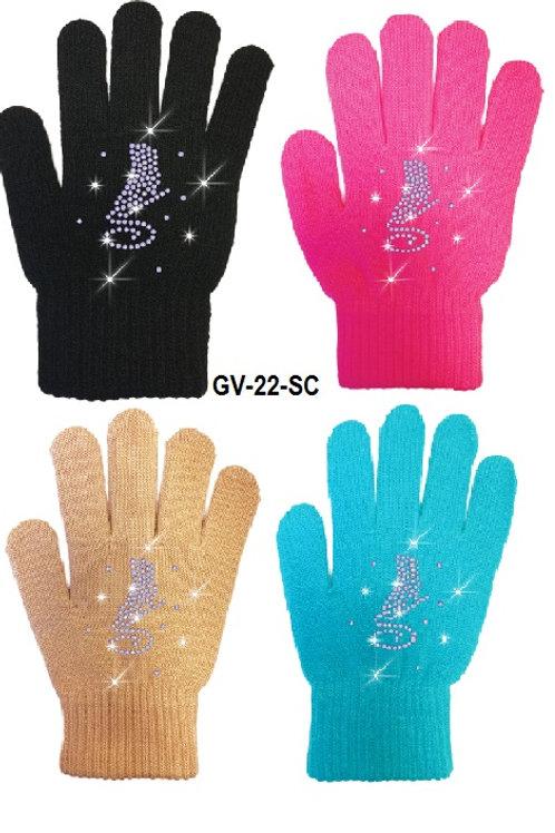 Crystal Skate gloves