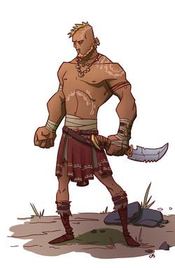 LINEARTSTUDIOS_warrior