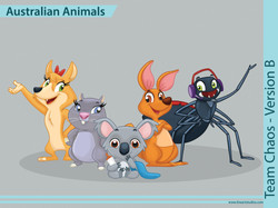 Australian_Animals_Team_Chaos_Color_B