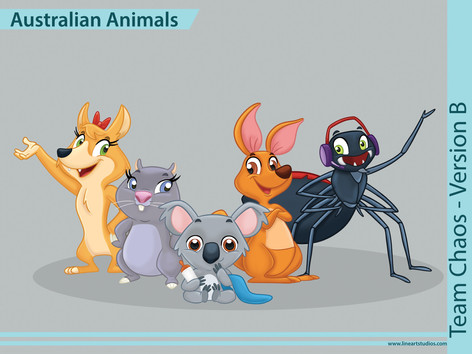 Australian_Animals_Team_Chaos_Color_B.jp