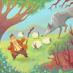 SHEPHERD AND WOLF