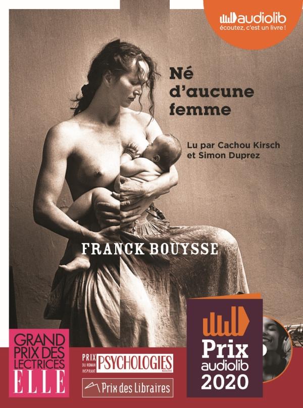 livre audio né d'aucune femme de Franck Bouysse