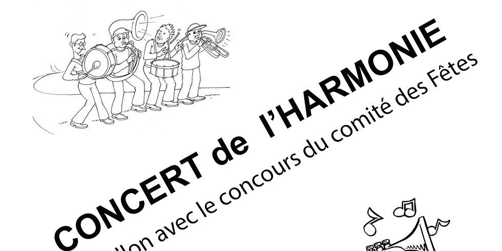 Concert de l'harmonie de Châtillon Coligny