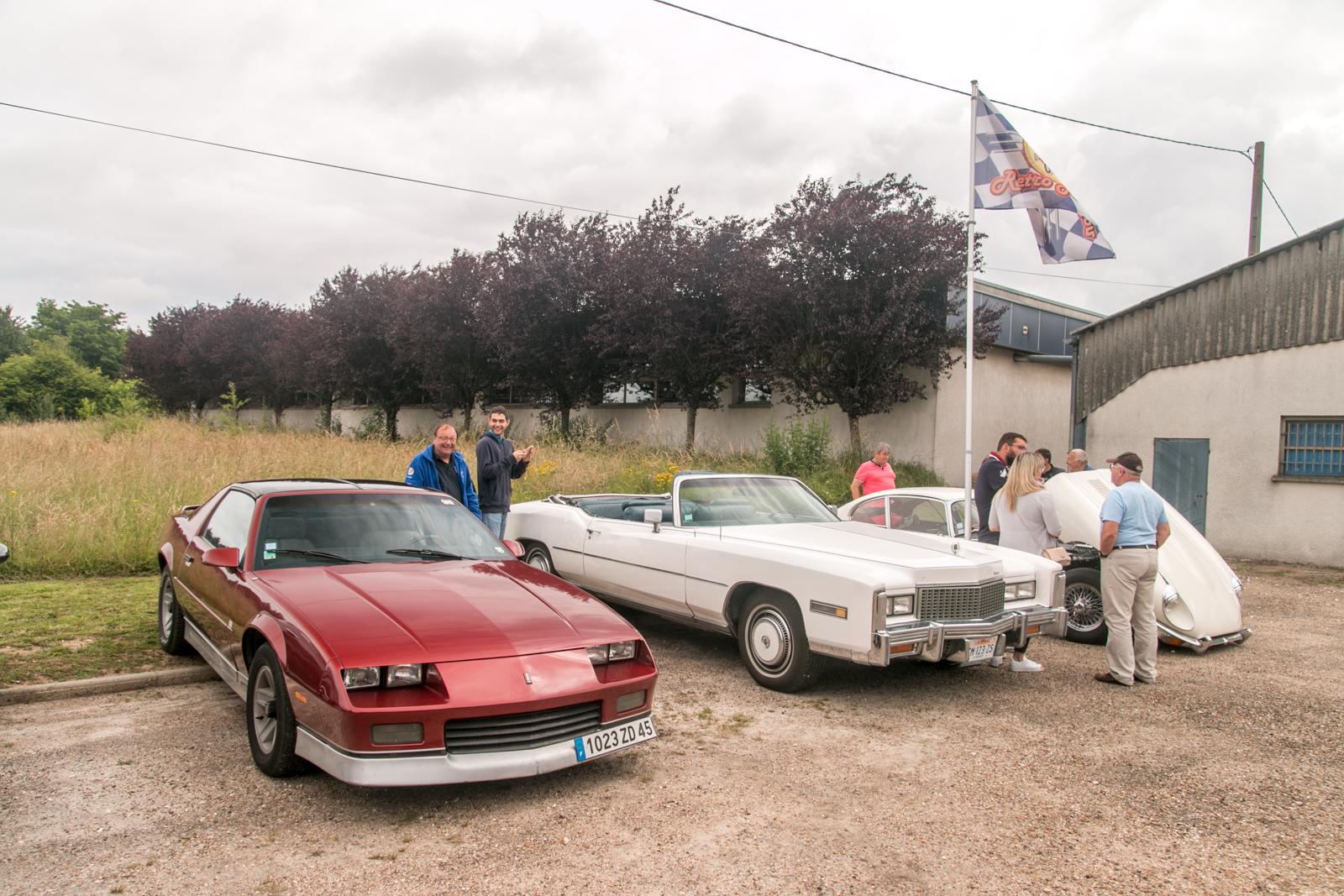 Chevrolet Camaro & Cadillac Eldorado