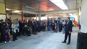Inauguration Auto Sport Museum avec Pierre de Thoisy