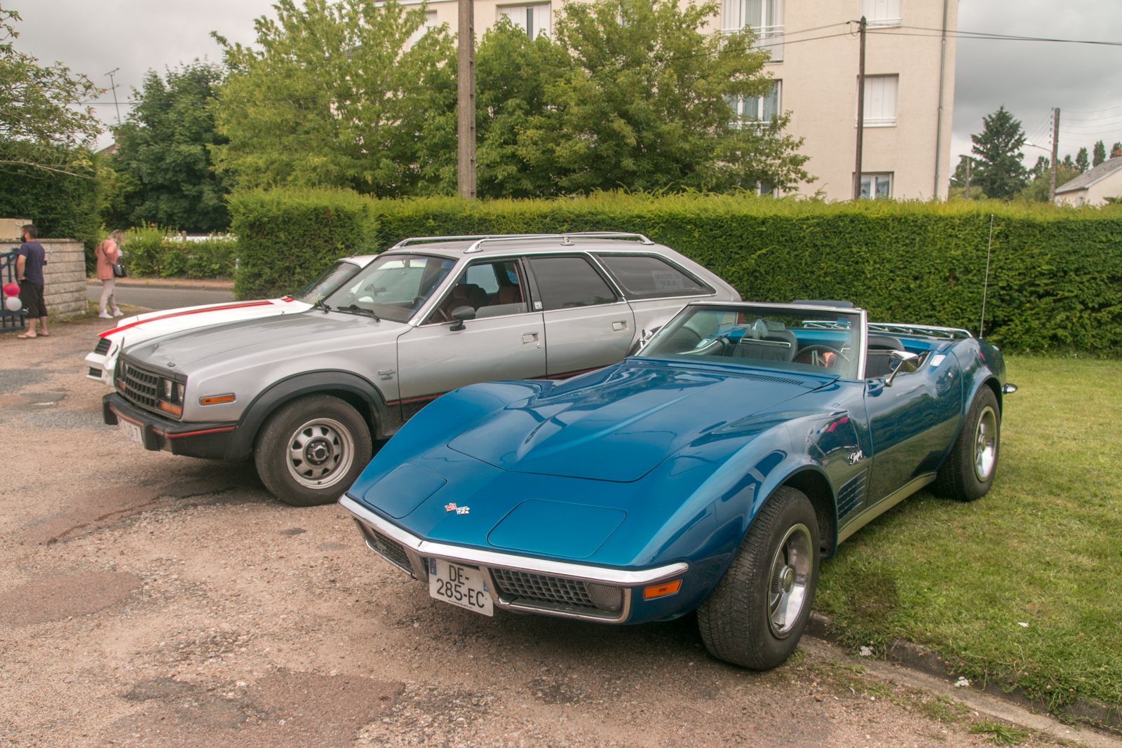 Corvette C3 et AMC Eagle Wagon