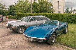 Corvette C3 et AMC Eagle Wagon