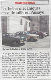 Rallye Puisaye 2016
