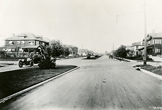North on 21st St from G Str 1910b.png