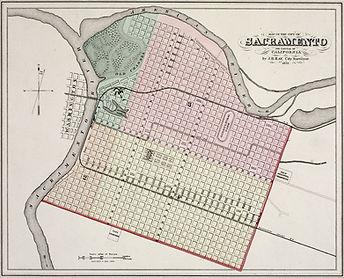 Sacramento Map 1873