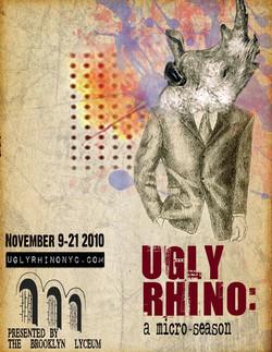 Ugly Rhino Poster