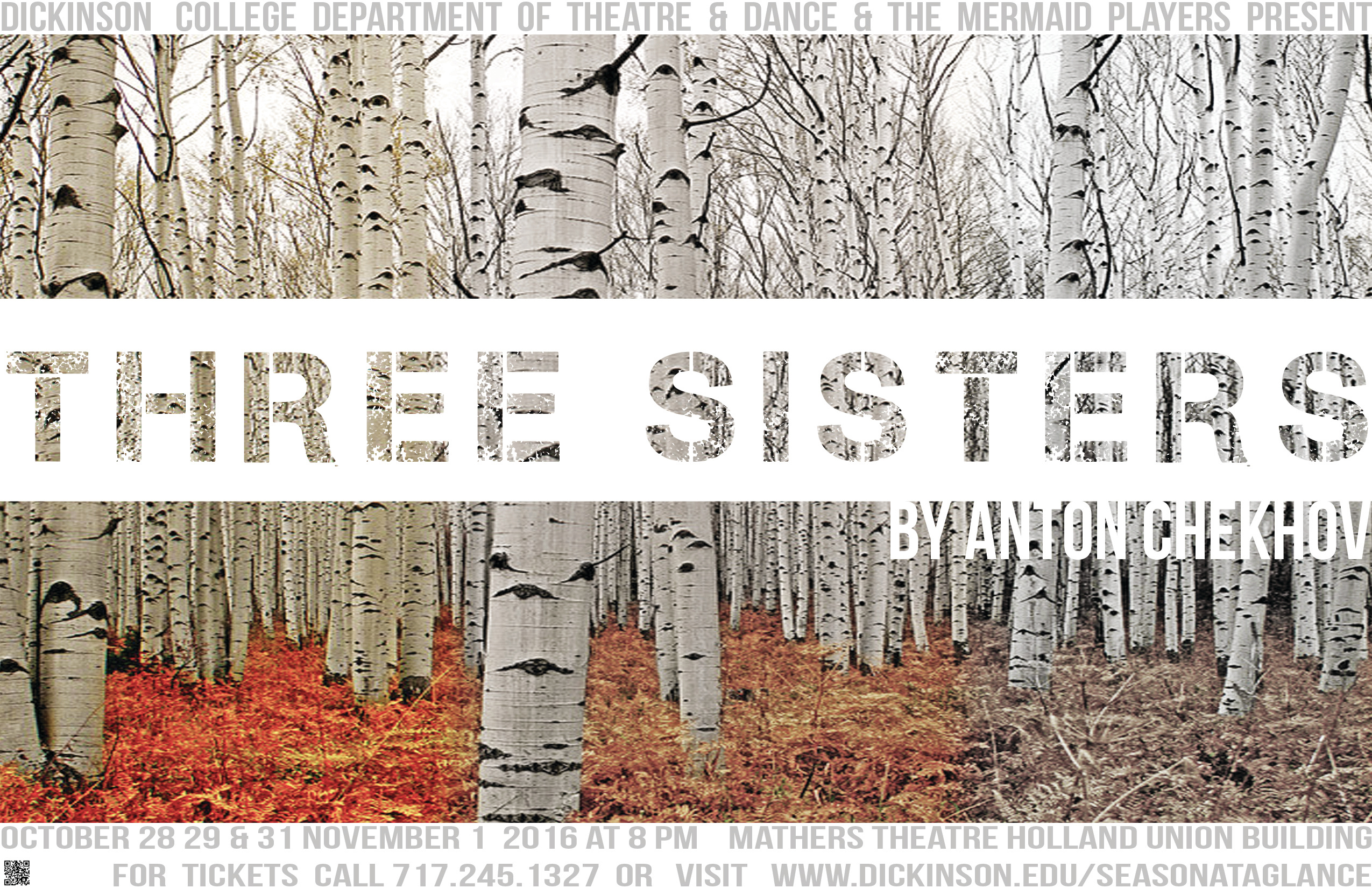 Three Sisters Official Show Poster