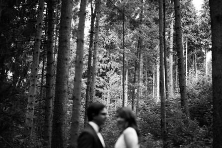 Waldshooting in Rosenheim | Hochzeitsfotografie München | magische Momente im Grünen