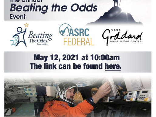 BEATING THE ODDS FOUNDATION TO HOLD ITS ANNUAL STUDENT EVENT WITH NASA