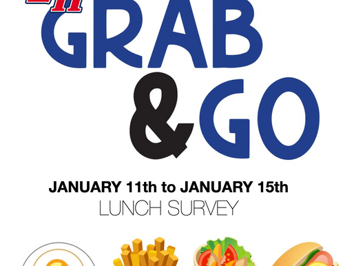 Grab and Go Lunch Survey 1/11-1/15