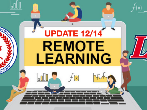 LHSD to Continue Remote Learning thru Jan 15, 2021