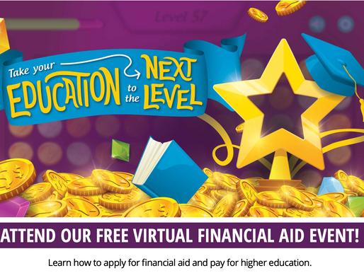 FREE VIRTUAL FINANCIAL AID EVENT