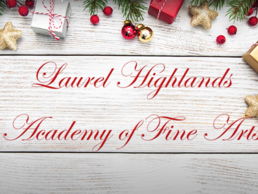 Happy Holidays from the Academy of Fine Arts!