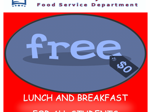 LHSD Free Breakfast & Lunch for all Students