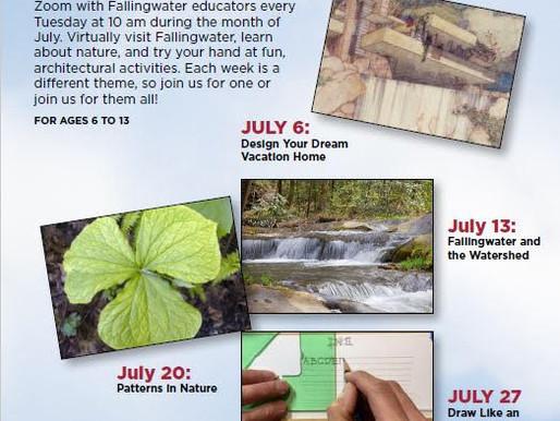 Fallingwater Explorers Summer Extravaganza!