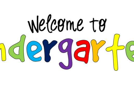 LHSD Elementary Schools Welcome to Kindergarten Letters