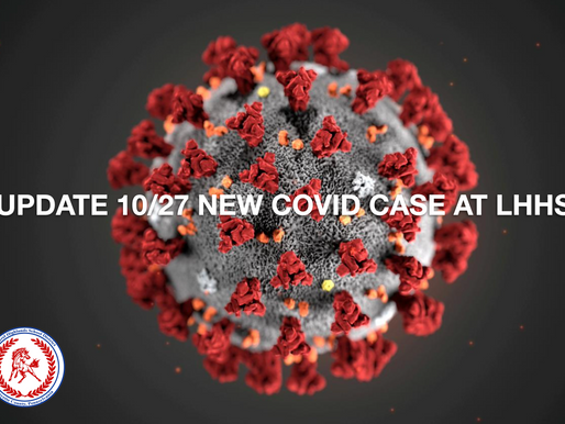 New COVID-19 Case at LHHS