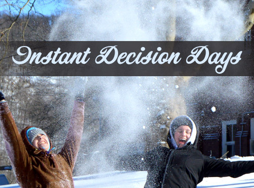 College Instant Decision Days Signup