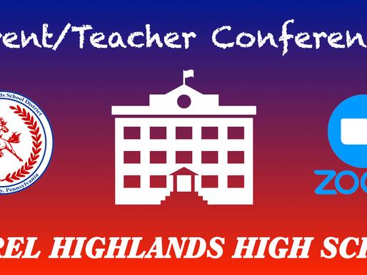 High School Parent/Teacher Conferences