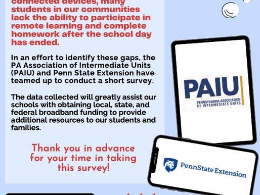 PA Broadband Survey