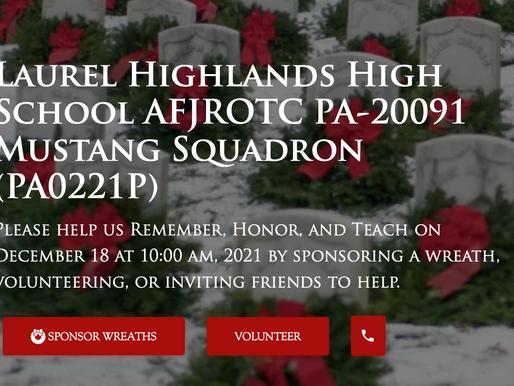 LHJAROTC Wreaths Across America