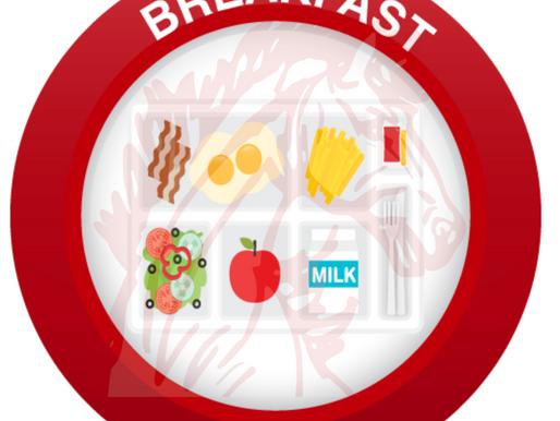 October Breakfast/Lunch Menus
