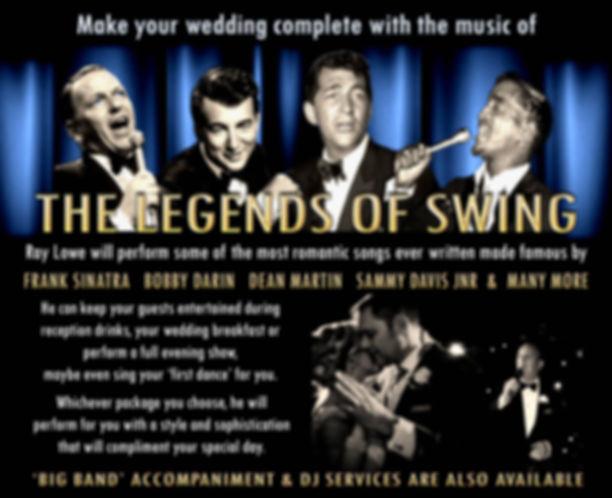 Ray Lowe wedding singer