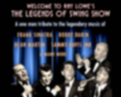 Ray Lowe Legends of Swing Show Singer