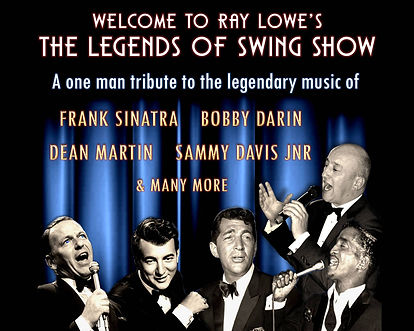 Ray Lowe Legends of Swing Show Singer