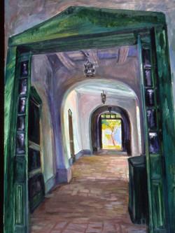Portal, Santa Fe Historic Society
