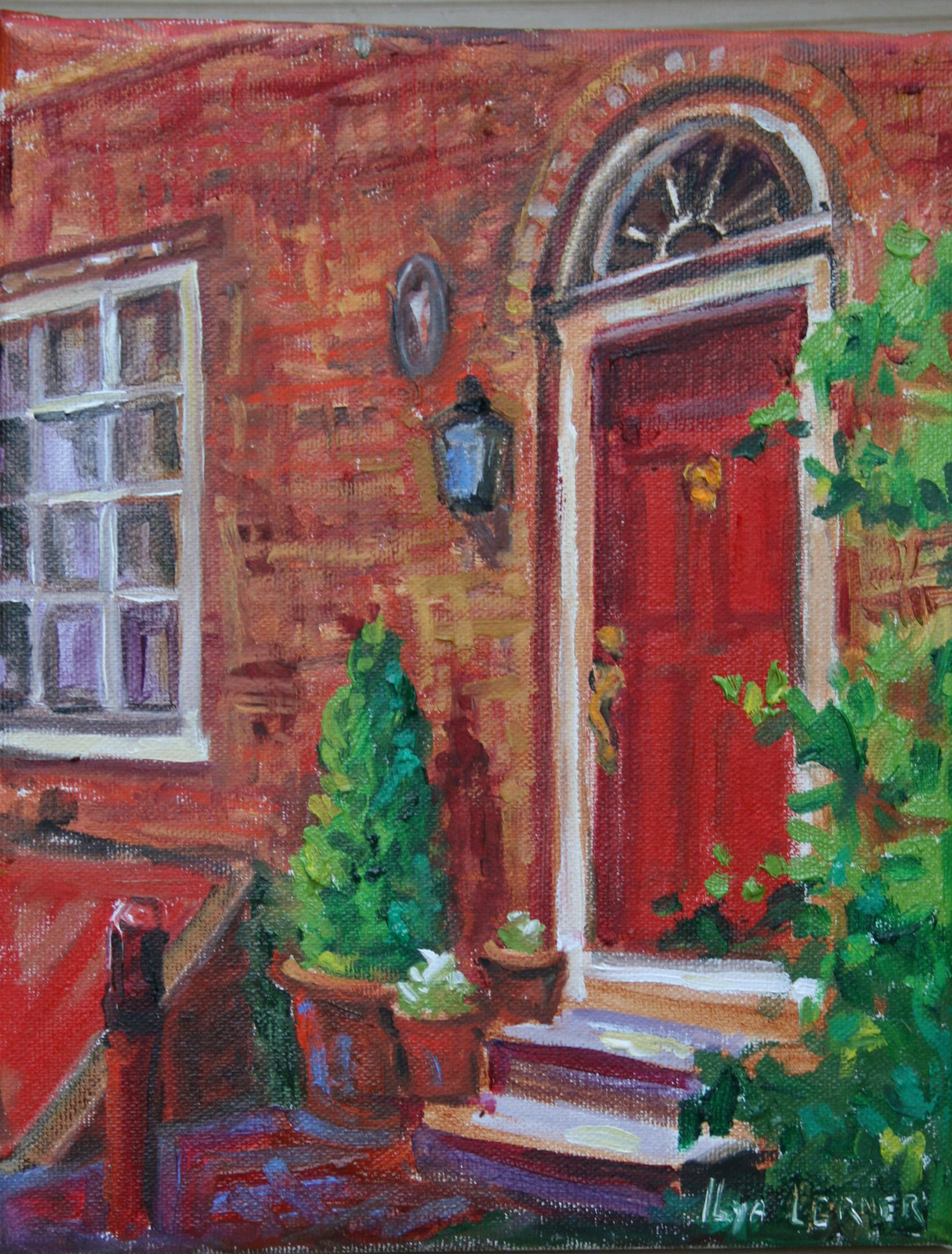 Red Door, Elfreth Alley, Philadelphi