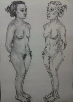 Prouty, Two Figures