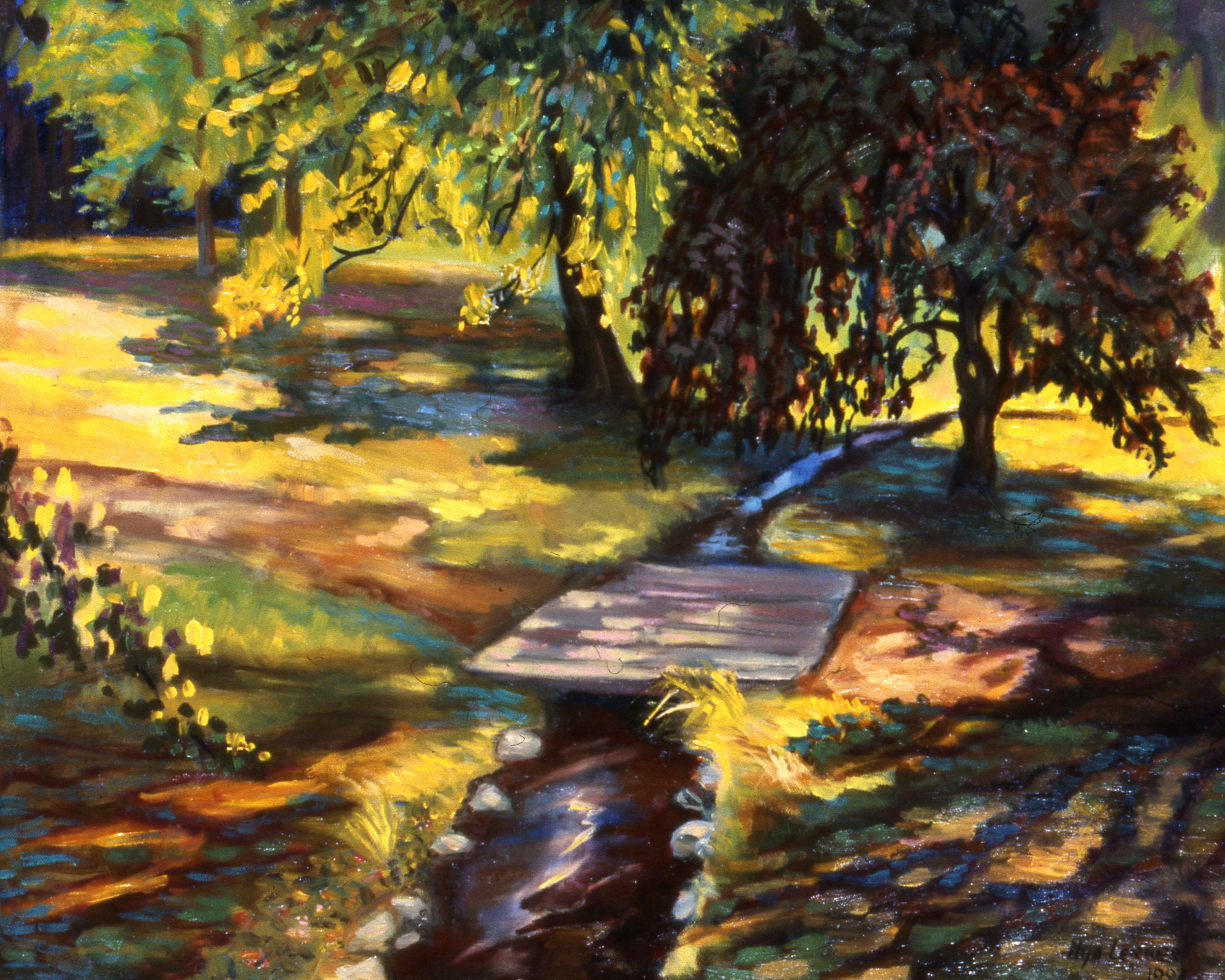 Summer, Wellsley College 20X24 1997