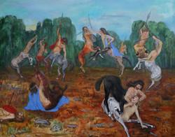 Centaurs Fighting