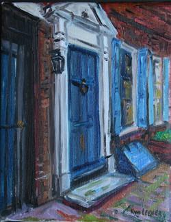 Blue Door, Elfreth Alley