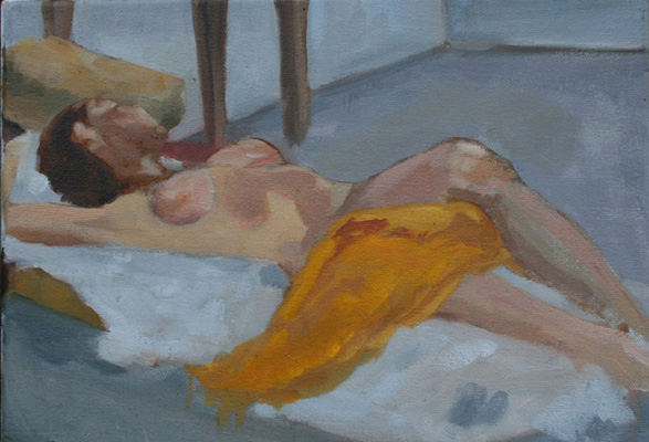 Johnson, Reclining Nude