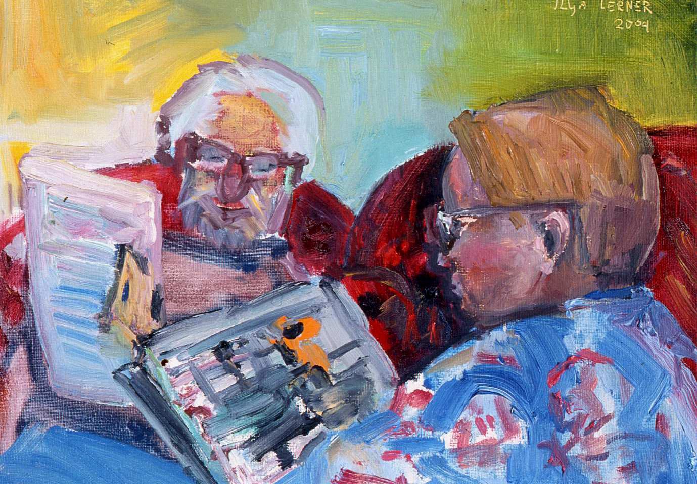 Artist's Parents