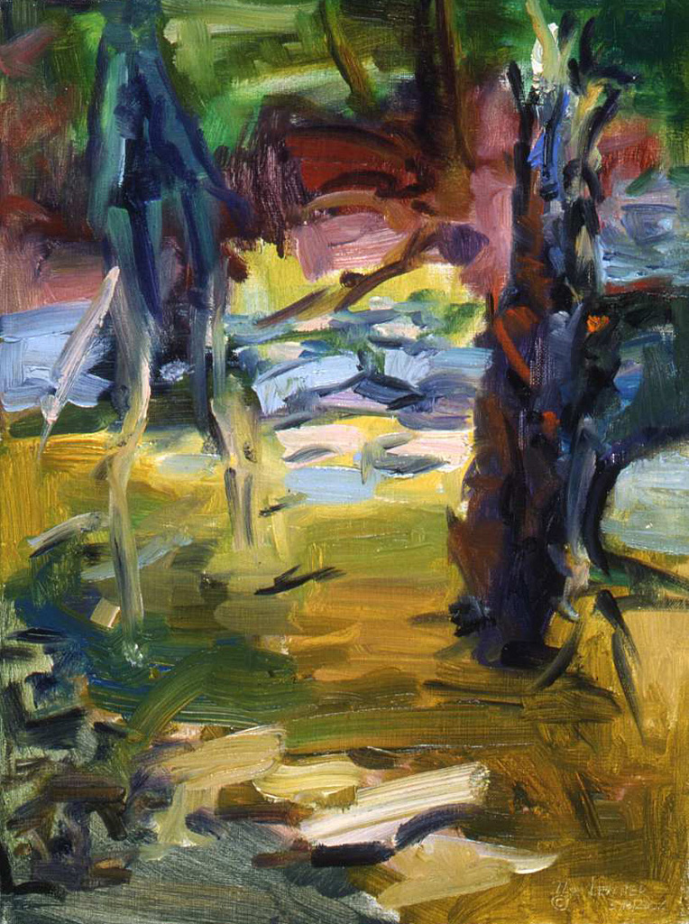Stumps in Creek