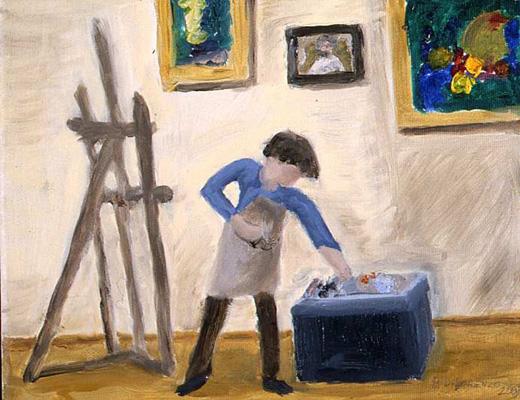 Dilorenzo, Student Painting