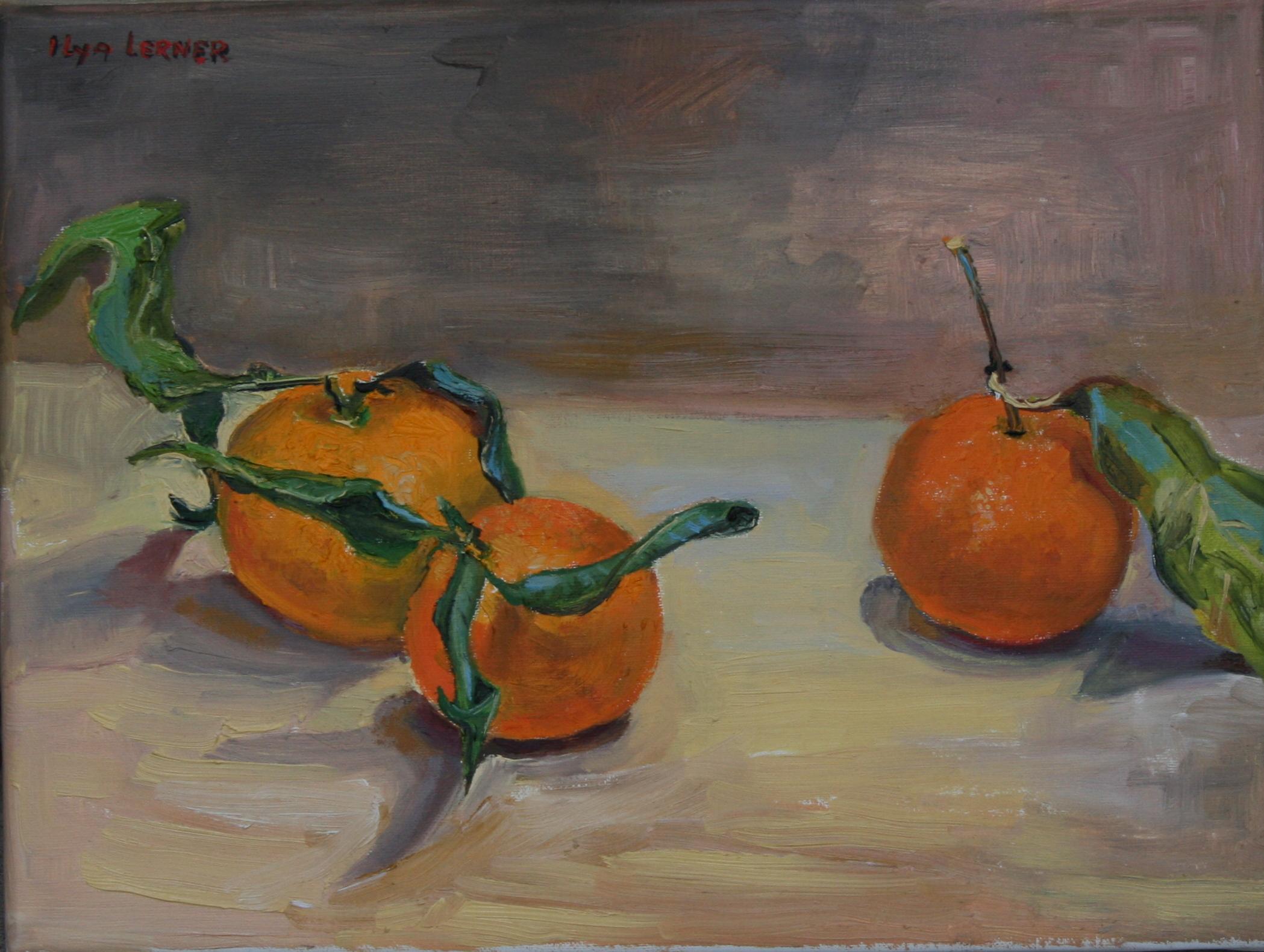 Tangerines 12X16