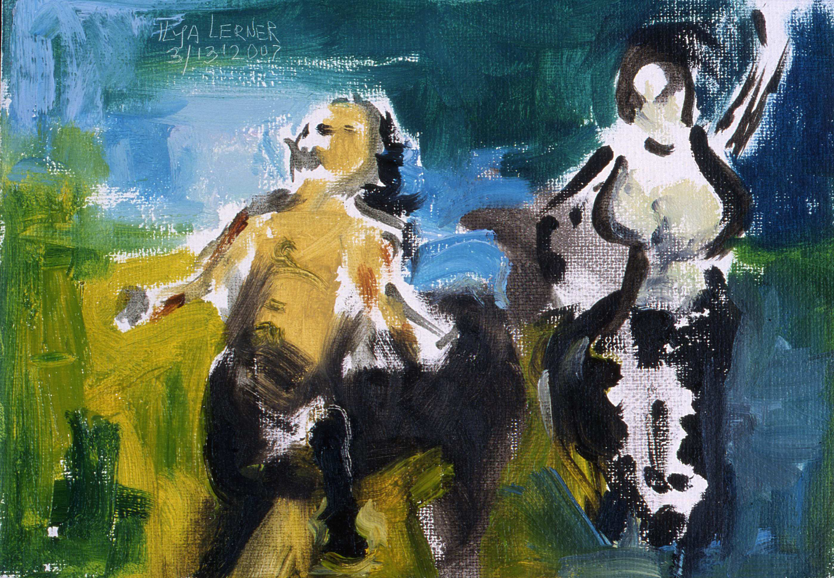 Centaurs Couple Dancing (Zakachirla)